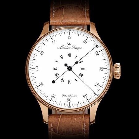 Julius Hampl 1884 Timepieces MeisterSinger Peter Henlein Limited Edition