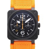 Julius Hampl 1884 Timepieces Bell & Ross BR 03-94 Carbon Orange Limited Edition