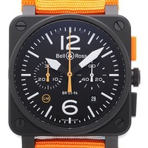 Bell & Ross Carbon Orange