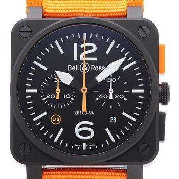 Julius Hampl 1884 Timepieces Bell & Ross Carbon Orange