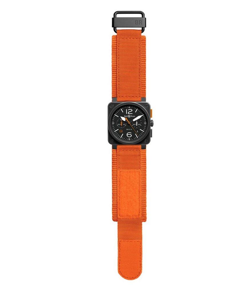 Julius Hampl 1884 Timepieces Bell & Ross BR 03-94 Carbon Orange Limited Edition
