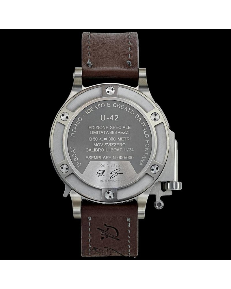 Julius Hampl 1884 Timepieces U-Boat U-42 BK RD GMT Limitierte Edition