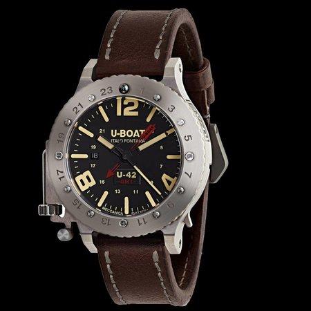 Julius Hampl 1884 Timepieces U-Boat U-42 BK RD GMT Limitierte Edition