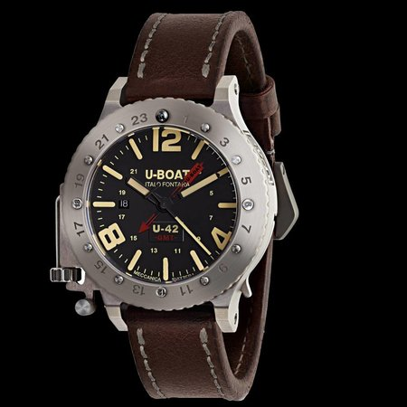 Julius Hampl 1884 Timepieces U-Boat U-42 U-42 BK RD GMT Limited Edition