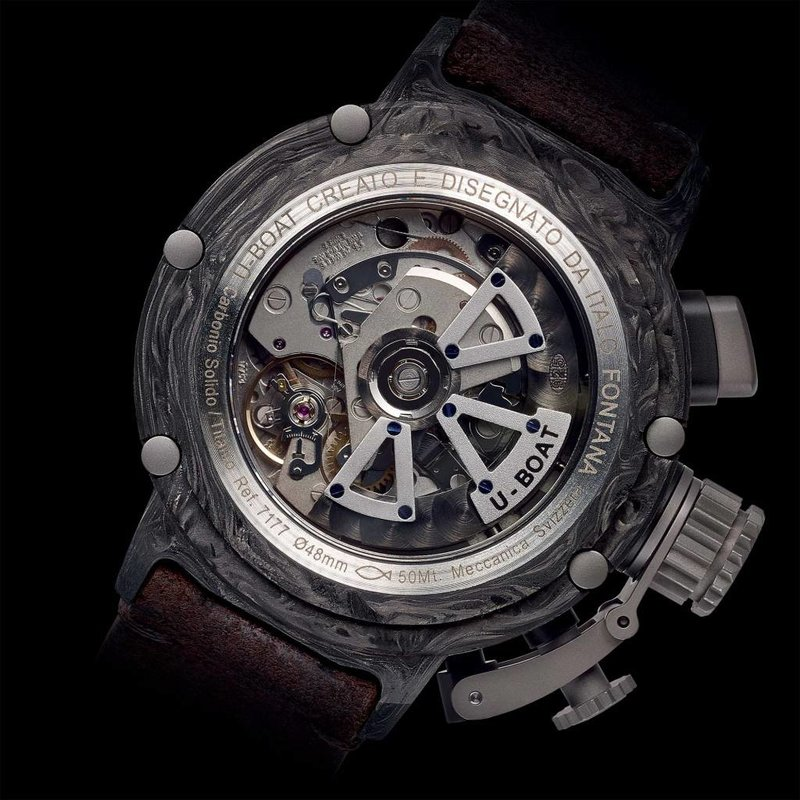 CHIMERA 48 CARBONIO GMT Limited Edition