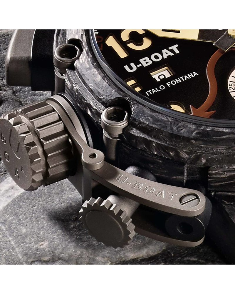 Julius Hampl 1884 Timepieces U-Boat CHIMERA 48 CARBONIO GMT Limited Edition