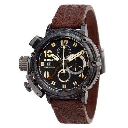Julius Hampl 1884 Timepieces CHIMERA 48 CARBONIO GMT Limited Edition