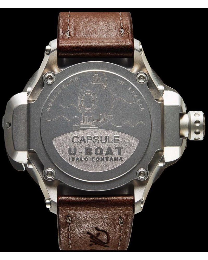 Julius Hampl 1884 Timepieces U-Boat CAPSULE 50 BK/BR Limited Edition