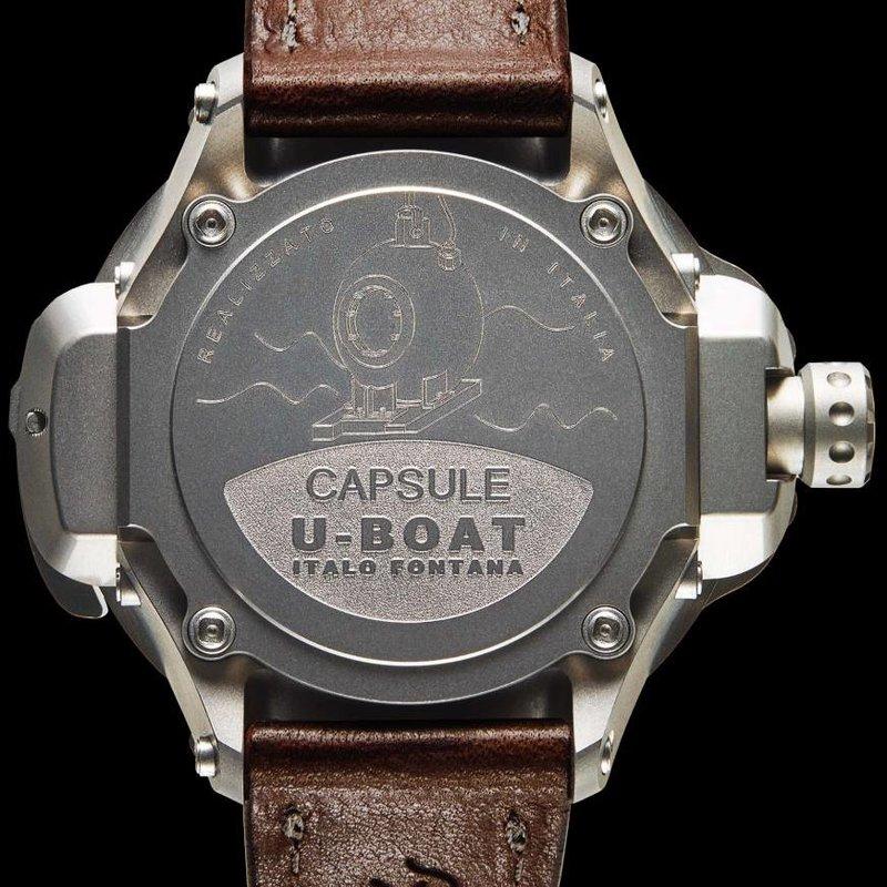 U-Boat CAPSULE 50 BK/BR Limited Edition