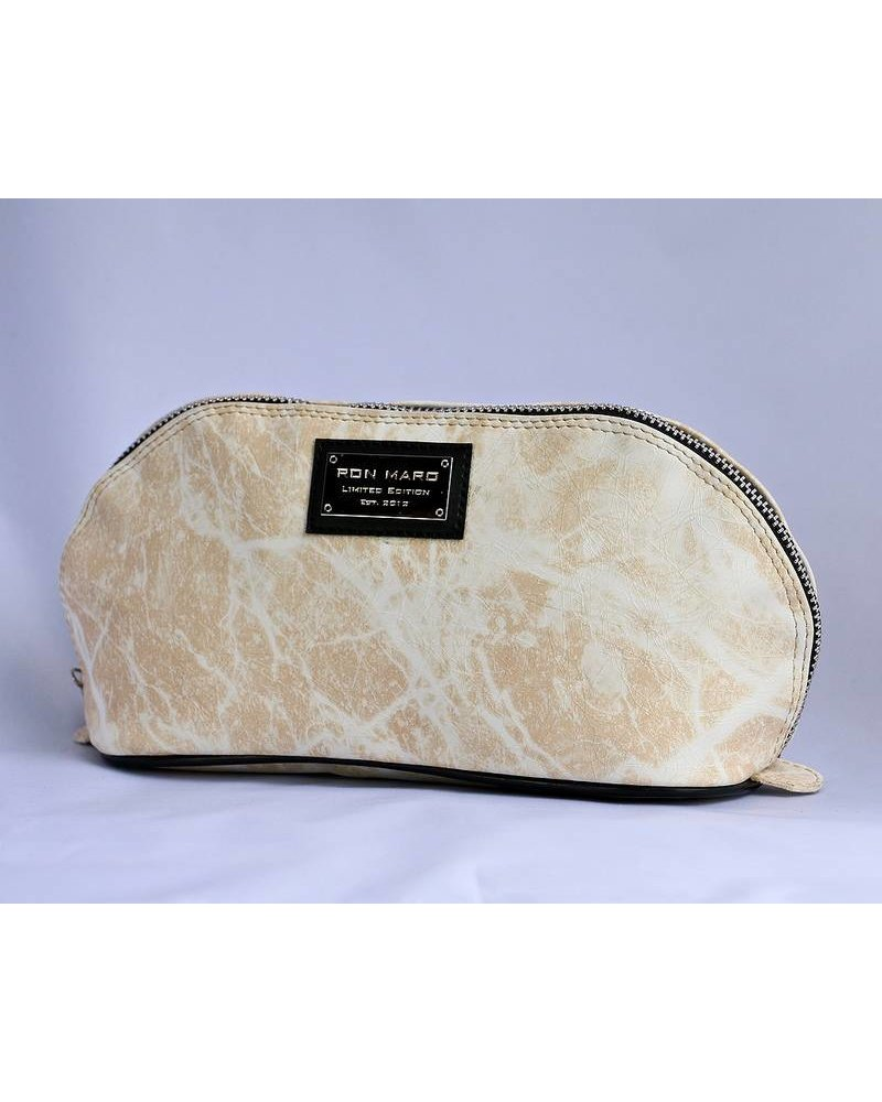 Ron Maro Cosmetic Bag Marble Sandy