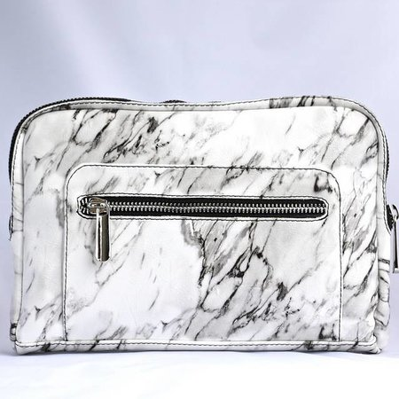 Ron Maro Travel Bag Marble White