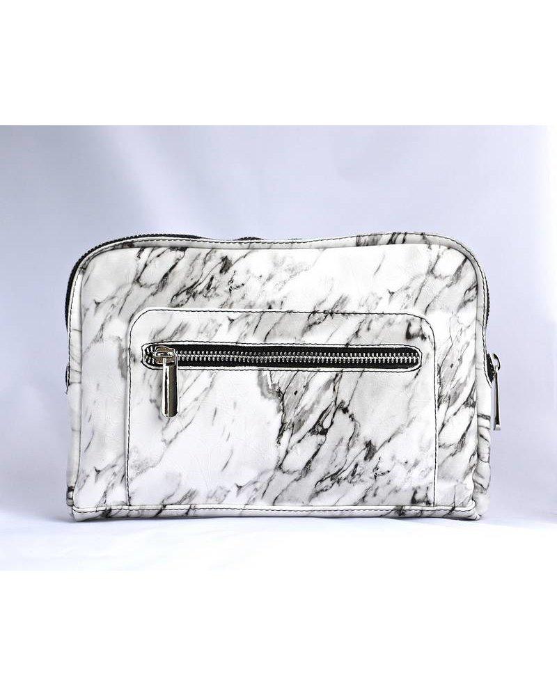 Ron Maro Travel Bag Marble White
