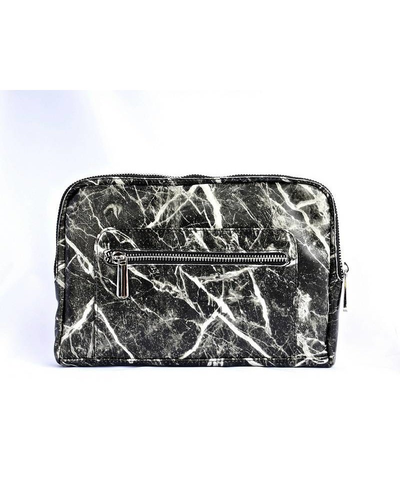 Ron Maro Travel Bag Marble Black