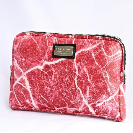 Ron Maro Travel Bag Marble Red