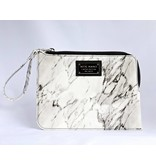 Ron Maro Clutch Marble White
