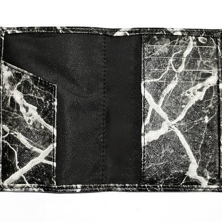 Ron Maro Passport Etui Marble Black