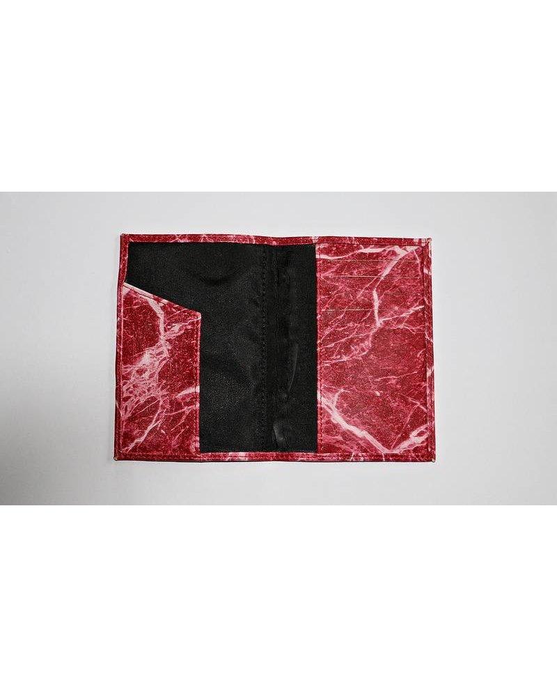 Ron Maro Passport Etui Marble Red
