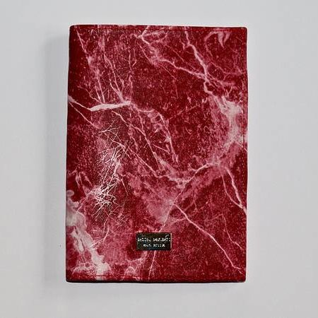 Ron Maro Passport Etui Marble Red
