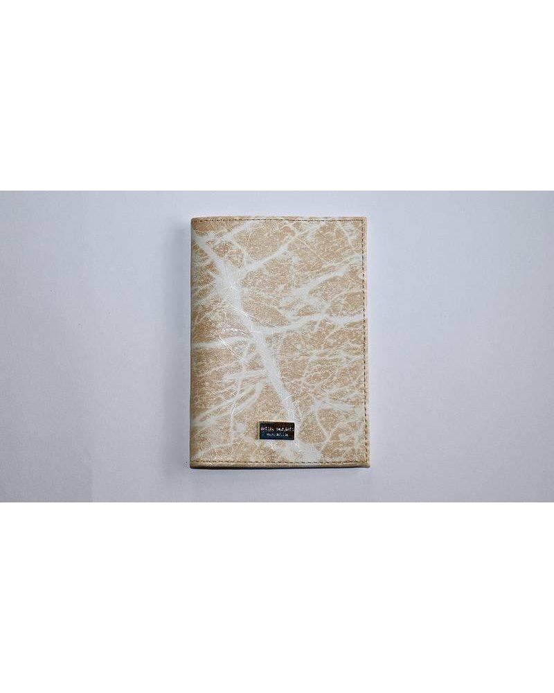 Ron Maro Passport Etui Marble Sandy