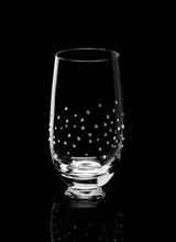 Luxor Crystal  Water Glass MARQUIS, Set of 2 glasses embellished with 75 crystals from Swarovski®