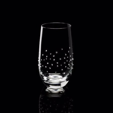 Luxor Crystal  MARQUIS: Set of two water glasses embellished with 75 crystals each from Swarovski®.