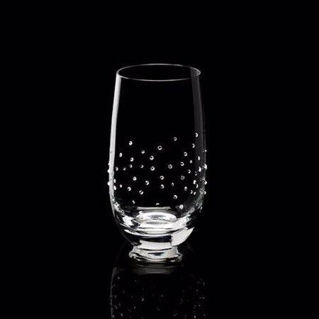 Luxor Crystal  MARQUIS: Wasserglas 2er-Set veredelt mit 150 Swarovski® Kristallen im Streudesign.