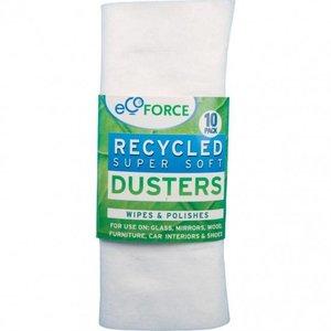 Ecoforce Stof-en poetsdoeken gerecycled 10 stuks