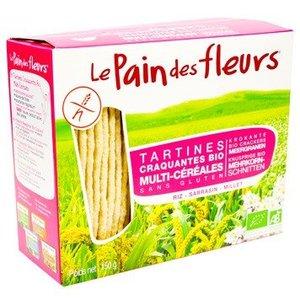 Le Pain des Fleurs Meergranen crispbread 150g - BIO