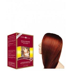Surya Brasil Haarkleuring Henna Powder - Burgundy