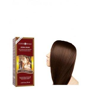 Surya Brasil Haarkleuring Henna Cream - Light Brown