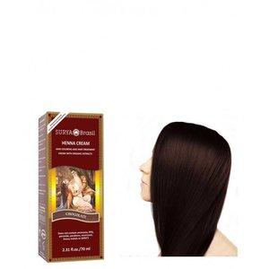 Surya Brasil Haarkleuring Henna Cream - Chocolate