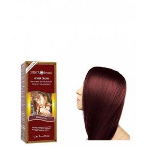 Surya Brasil Haarkleuring Henna Cream - Burgundy