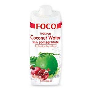 Foco Kokoswater - 100% Puur - Granaatappel 330ml