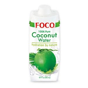Foco Kokoswater BIO - 100% Puur - Naturel 330ml
