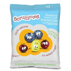Clearly Scrumptious Scrummies Blueberry (bosbes) 20g