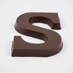 Magic Chocoladeletter 60% Puur en 100% Allergenenvrij - 50g