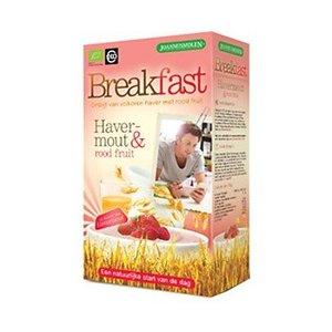 Joannusmolen Breakfast Ontbijt Havermout - Rood Fruit 300g
