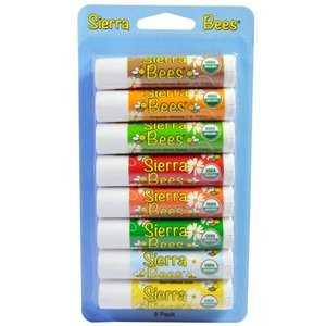Sierra Bees Lippenbalsems 8 pack