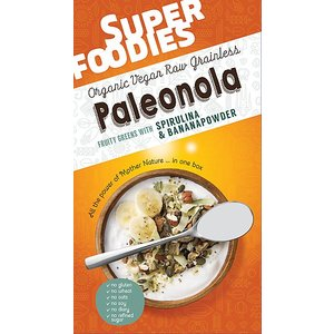 SuperFoodies Paleonola fruity greens ontbijtmix 200g