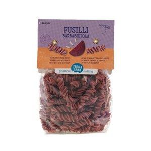 Terrasana Fusilli Pasta Rijst en Rode Biet 250g