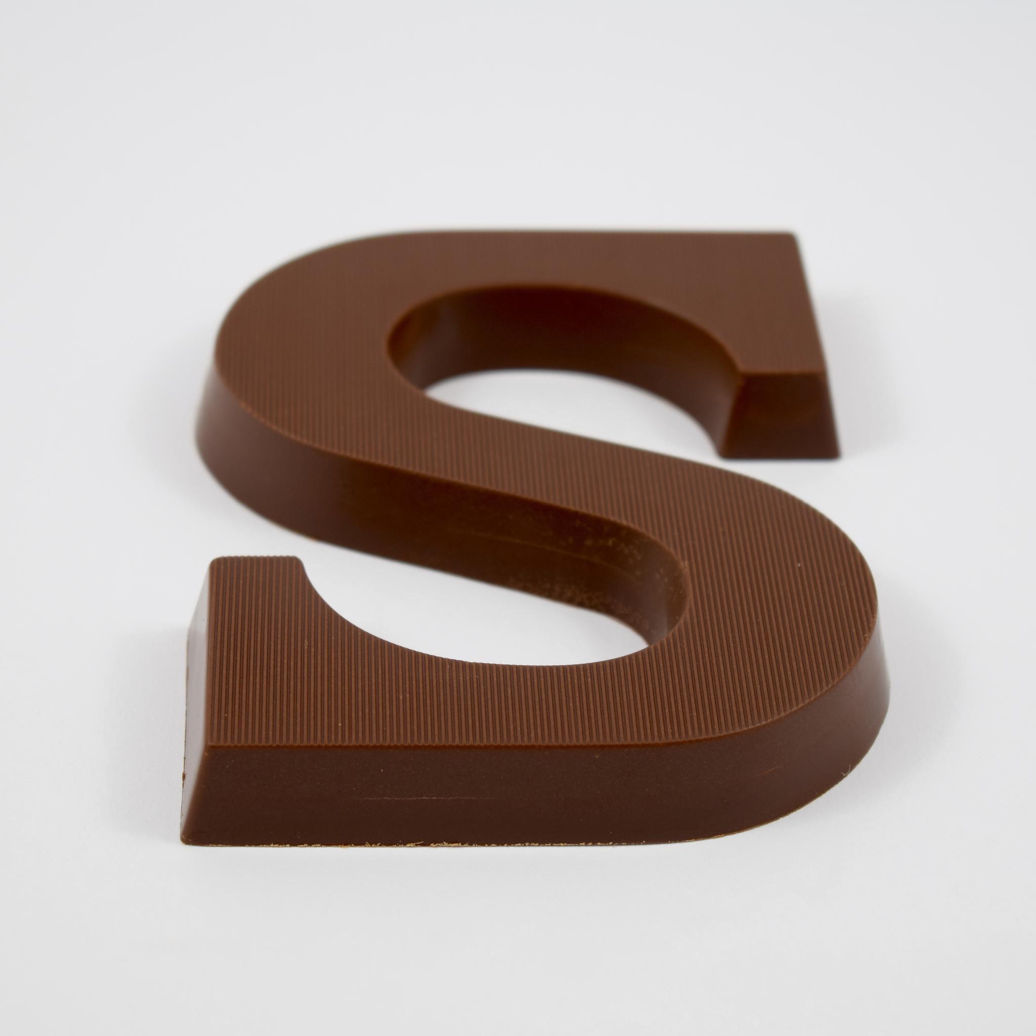 Sinterklaas chocolade letter S