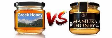 griekse honing vs manuka honing