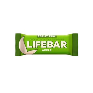 LifeFood Lifebar Appel RAW & BIO - 47g