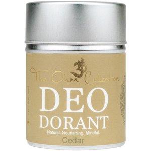 The Ohm Collection Deodorant Poeder - Cedar 120g