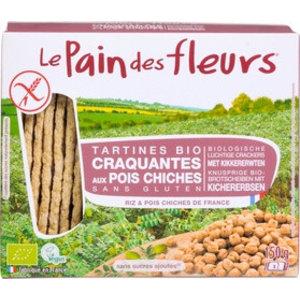 Le Pain des Fleurs Kikkererwten Crackers - 150gr