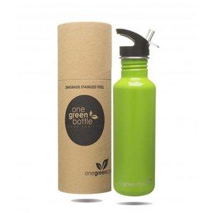 One Green Bottle Tough Canteen Apple Green met Quench cap - 800ml