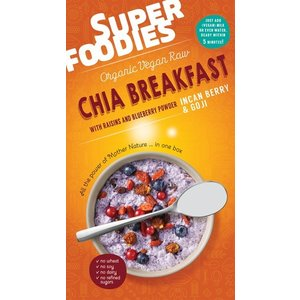 SuperFoodies Chia Breakfast Goji-Inca Bessen - 200g