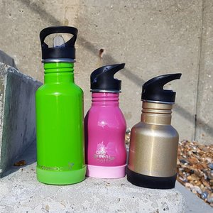 One Green Bottle Silicone Bodem - Roze