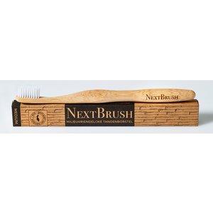 NextBrush Tandenborstel bamboe - Medium