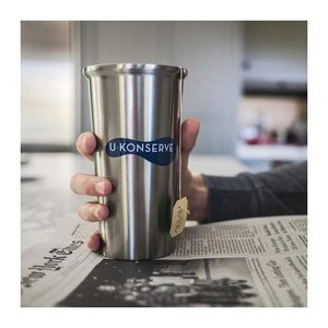 U-Konserve Thermos koffiebeker Navy - 450ml